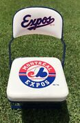 Vintage Olympic Stadium Montreal Expos Game Used Clubhouse Locker Room Chair