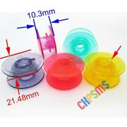 Colored Bobbins With Thread Hole For Husqvarna Viking Lily 555 550 545 540+