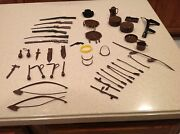 Vintage Louis Marx Johnny West Accessories Fighting Weapons 43 Piece Lot