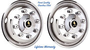 16 X 6 Chevy Express Cutaway Box Truck Wheel Simulator Rim Hubcap Front Covers Andcopy