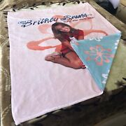 Britney Spears Official Merchandise Baby One More Time Blanket Brand New