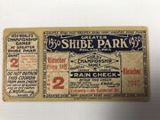1930 A's Vs Cards, World Series, Game 2, Ticket Stub Shibe Park