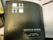 Hyster Spacesaver S40xl, S50xl, S60xl Service Manual
