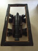 Vintage U.s.s. Constitution Cannon Coffee Table