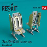 Seats Sikorsky Ch-53 Mh-53 Aircraft Rsu48-0009 148 Scale Reskit Model Kit
