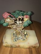 Be It Ever So Humble Clown In A Tree House Ron Lee Le Sculpture Signed