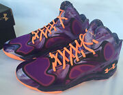 Under Armour Tb Micro G Anatomix Spawn 1248426-563 Basketball Shoes Men's 15 Nba