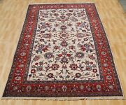 Home Decor Persian Floral Carpet Rug Handmade Wool Rectangle Area Rugs 6x10ft.