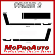Prime 2 Hockey Boss 302 Style Decals Graphics Pro 3m Vinyl Qw7 2013 Ford Mustang
