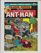 Marvel Feature 9 Fn/vf Ant-man / Wasp Team-up