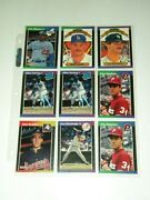 Vintage Baseball Card Lot With Collectors Album Over 500 Cards