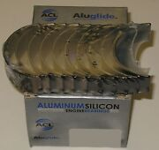 Acl 5m1668a-std Aluglide Main Bearings For Vw Audi 1.8l Gti 94up Atw Aug Aww Bwa
