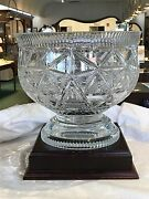 Waterford Times Square Hope For Abundance Centerpiece Bowl Nib 115349