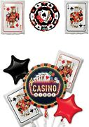 Casino Cards Alice In Wonderland Tea Party Balloons Party Ware Decoration Helium