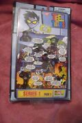 Bandai Teen Titans Go Series 1 Page 1 1.5 Inch Comic Book Heroes Figure. New