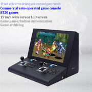 Coin-operated Arcade Game Machine 19 Inch Lcd 8520 In 1 Retro Games Pandora 3d