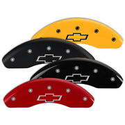 Set Of 4 Brake Caliper Covers Fits Chevrolet Sonic W/bowtie Engraving [14229]