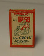 Monkey Link Vintage Advertising C1948 Snow Chains Links