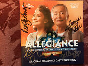 Allegiance Signed Cd Booklet Lea Salgona Telly Leung Autographed George Takei
