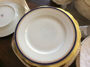 Royal Limoges Richelieu Dinner Plates Set Of 12 - Holiday Table