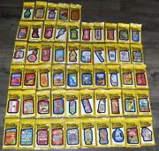 Wacky Packages 2014 Complete Set In Sealed Packs 55 Card Base Set Rare Htf