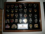 Nfl Superbowl And Nfl Helmet Pins, Baseball Pinsdodgers And Angels, Olympic Pins,