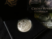 2012 Cross River Gorilla Real Eye Effect Silver Coin 1000 Francs Cameroon