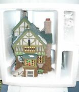 4353 Retired Dept 56 Heritage Village Collection The Pied Bull Inn 2nd Ed 1993