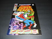 Marvel Super-heroes 14 May '68 Silver Age Marvel Comics Spider-man   Id5739