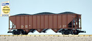Usa Trains G Scale 14001 70 Ton 3 Bay Coal Hopper Undecorated Red Oxide