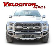 Ford Raptor Decals Text Letters Velocitor Grill 3m Vinyl Graphics 2018 2019 2020