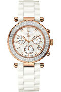 Guess Collection A22104m1ladiesdiamonds On Bezelsapphirescrew Crown100m Wr
