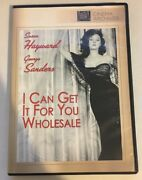 I Can Get It For You Wholesale Dvd Used Very Good Dvd-r/bw Susan Hayward Rare