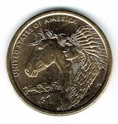 2012-d 1 Brilliant Uncirculated Business Strike Native American Dollar Coin