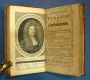 Richard Morton / Phthisiologia Or Treatise Of Consumptions Wherein 1st Ed 1694