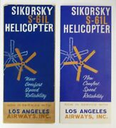 Aviation Product Brochure / Sikorsky S-61l Helicopter Accompanied 1st Ed 1962