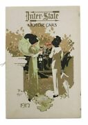 Automotive Promotional Booklet / Inter-state Motor Cars 1912 First Edition
