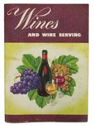 California Wine How-to / Wines And Wine Serving Gabler 13880. Ca 1950s