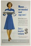 Womenand039s Army Corps / Wwii / Women Our Wounded Need Your Care Join Hospital 1st