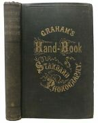Andrew J Graham / Hand Book Of Standard Or American Phonography In Five Parts