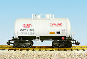 Usa Trains G Scale Beer Can Tank Car R15209 Dupont - White