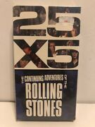 The Rolling Stones - 25 X 5 The Continuing Adventures Of The Rolling Stones Vhs