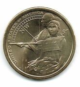 2014-d 1 Brilliant Uncirculated Business Strike Native American Dollar Coin