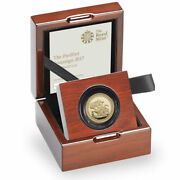 2017 Piedfort Gold Proof Sovereign - Special Issue For 200th Gold Anniversary
