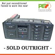 Re-conditioned Oem Climate Controller For Saab 9000 87/93