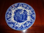 Wedgwood Compton And Woodhouse 1994 Blue And White Collection Gothic Ruins