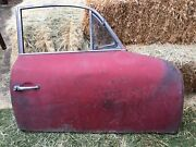 Porsche 356 Door W/ Window And Regulator Vent Handles- Passenger Side