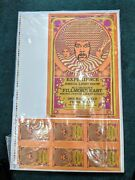 Jimi Hendrix 2nd Print Fillmore East Nyc 1968 Concert Poster Signed And 35/100