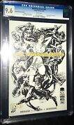 Walking Dead 94 2012,image Sketch Cover 9.6 Nm+ Cgc