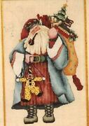 Fantasy Father Christmas  Counted Cross Stitch,beads Mpn 89-30